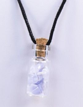 Lahvička s kamínky - Chalcedon