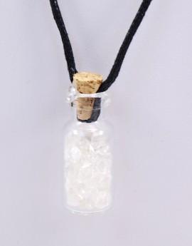 Lahvička s kamínky - Křišťál