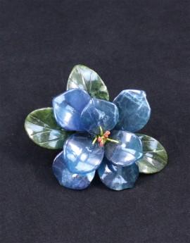 Kamenný květ malý modrý