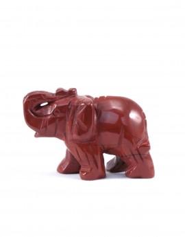 Slon - jaspis červený