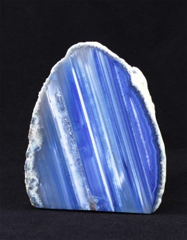 Svícen achát modrý