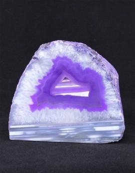Svícen achát fialový