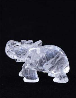 Slon - křišťál